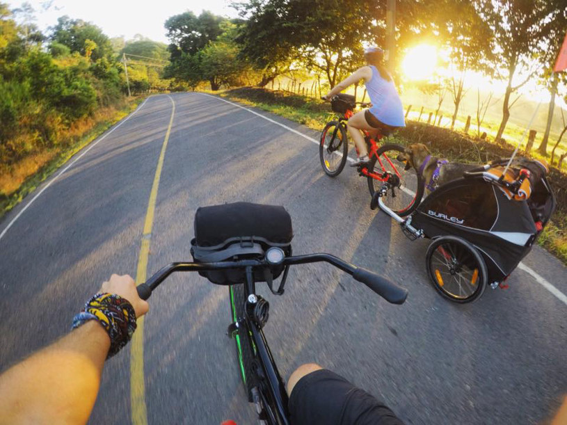 Cycling a beach cruiser around Costa Rica