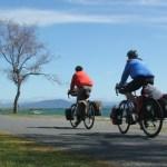 Cycling Around Lake Taupo, New Zealand