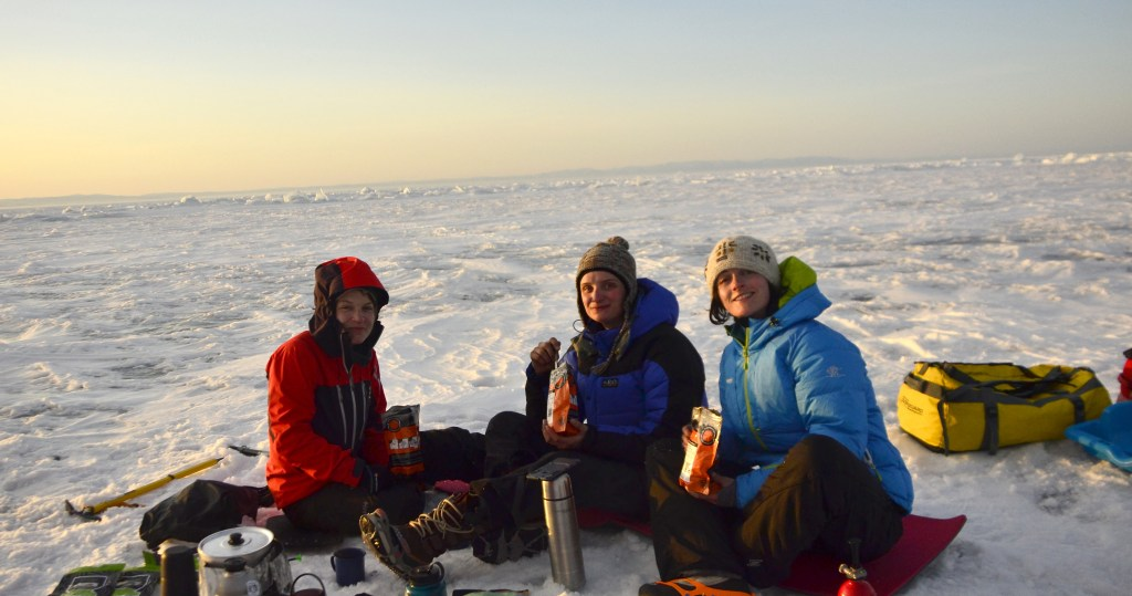 Lake Baikal Expedition - Theresa Loeber, Kathryn Bennett & Ellie Ulyatt