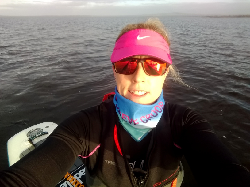 Joanne McCallum - SUP Lough Neagh - Selfie