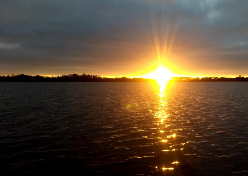 Joanne McCallum - SUP Lough Neagh - Sunset