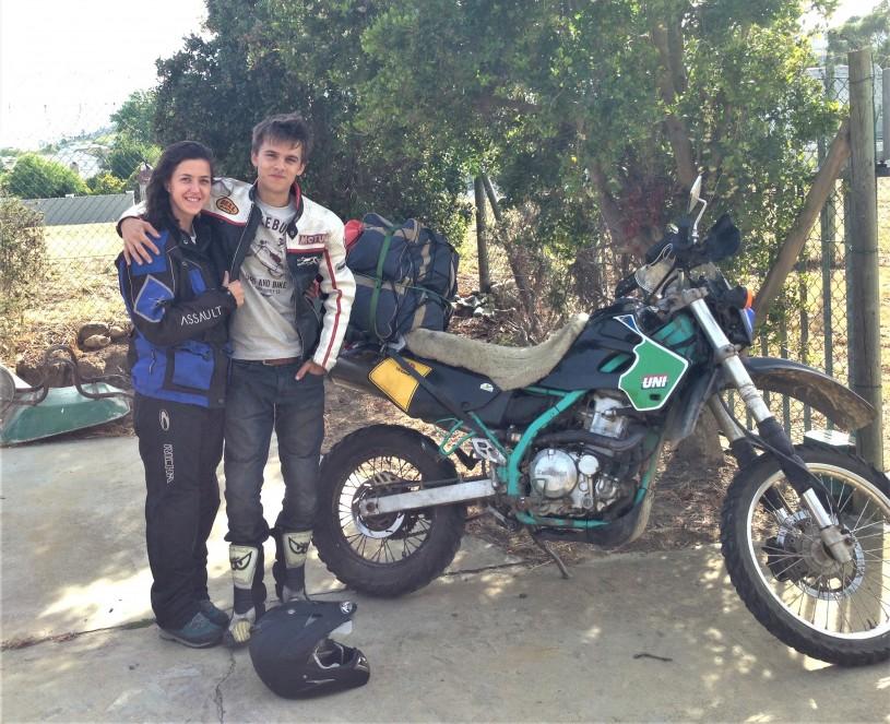 Bethany & Alasdair Gorniak - Morobiking the Great Western Trail