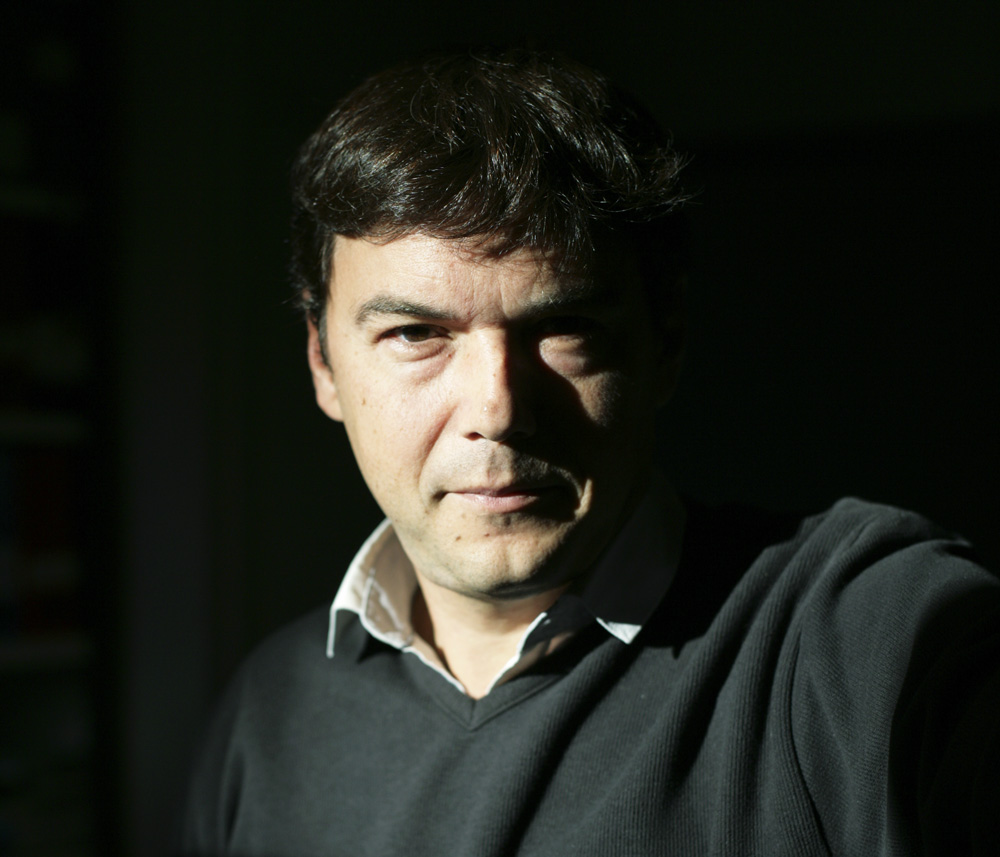 Thomas Piketty - Professor of Economics, Paris School of Economics; photo from The Next Deal
