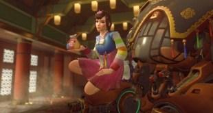 A screenshot from Overwatch