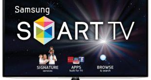 A Samsung Smart TV