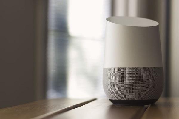 The Google Home smart speaker