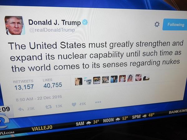 President Trump's tweet