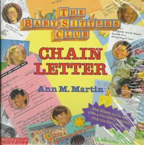The only chain letter I was ever happy to receive.