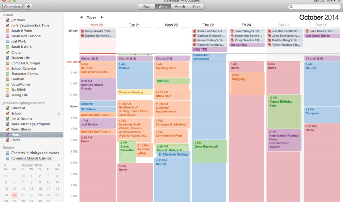 A New Way to Manage My Work Schedule
