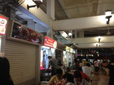 This is one of the famous hawker stalls. A great variety of cheap food