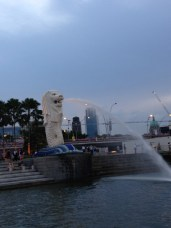 The infamous Merlion