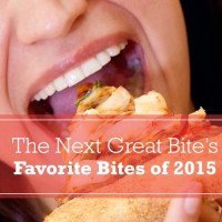 My Favorite Bites of 2015