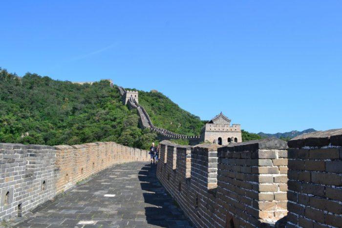 Muralla China en la zona de Mutianyu
