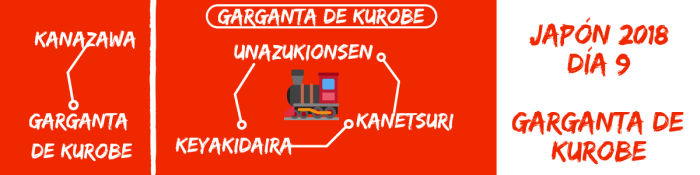 Qué ver y hacer en la garganta de Kurobe