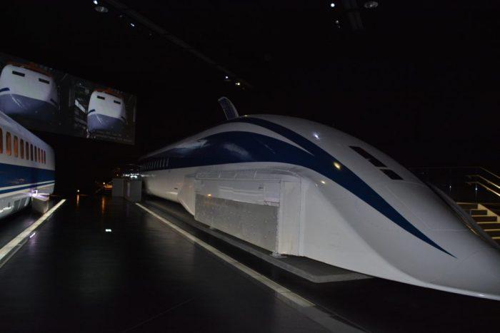 El museo SCMAGLEV de Nagoya
