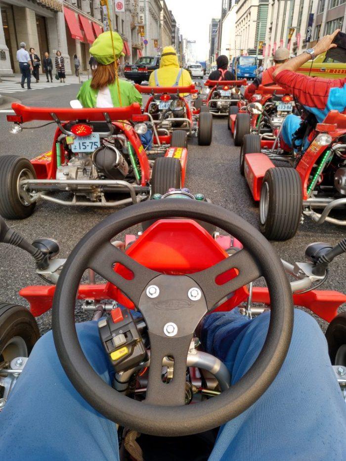 Conducir como Mario Kart en Tokio