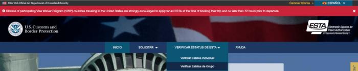 Cómo hacer el ESTA para viajar a EE.UU.