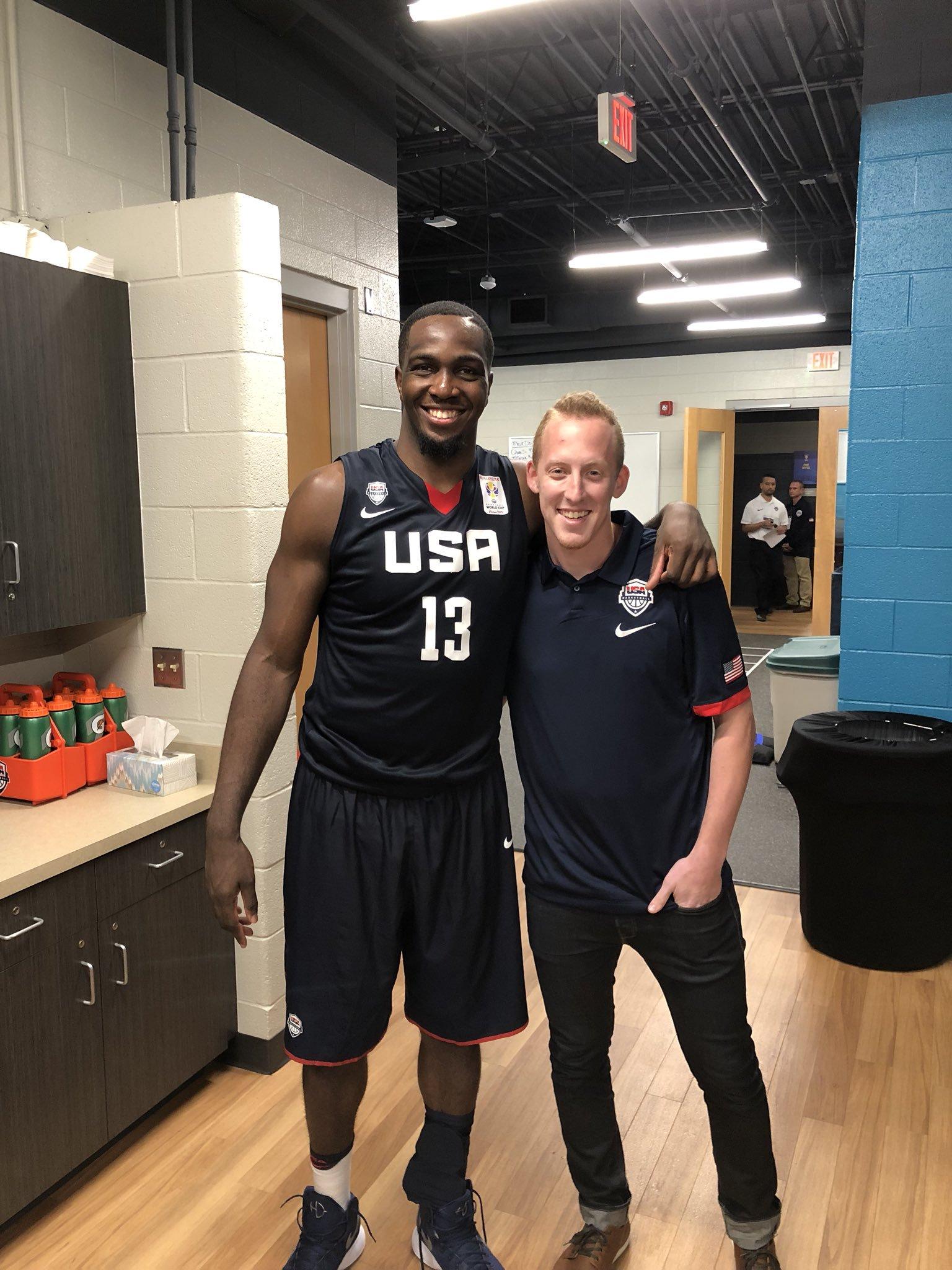 Team USA and Stony Brook Alum: Jameel Warney