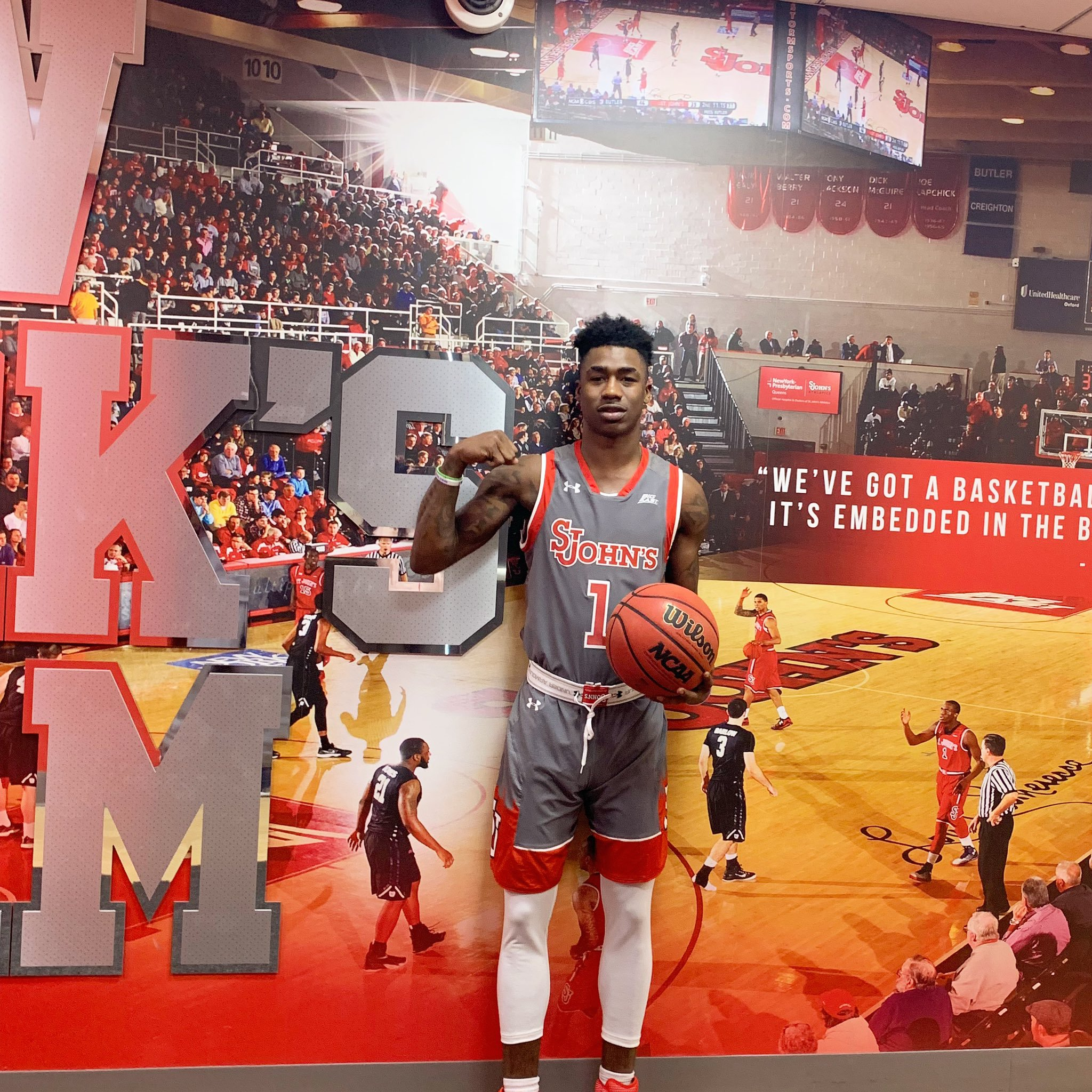 Cameron Mack is ready to arrive at St. John's