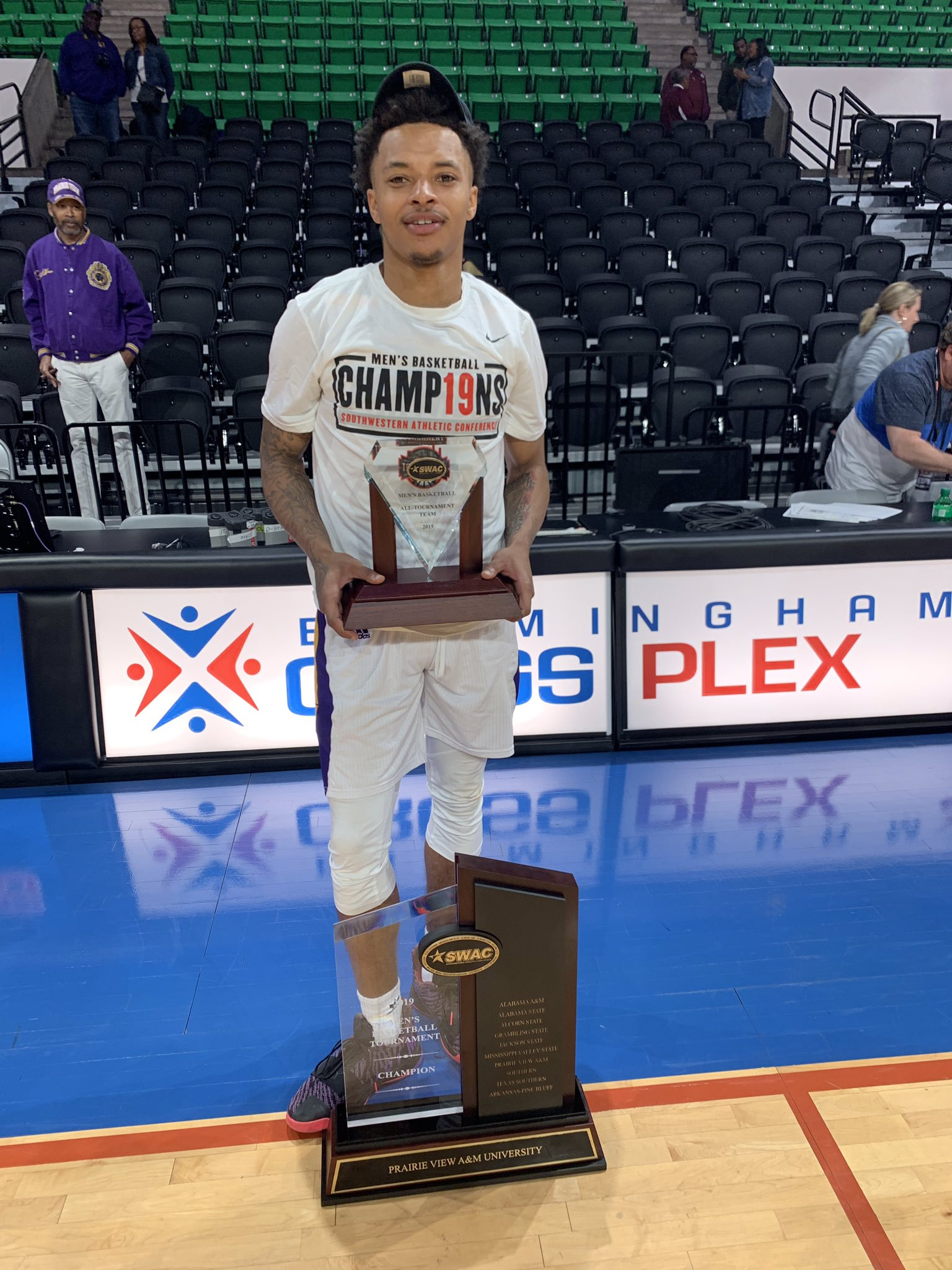 2019 SWAC Defensive Player of the Year, Dennis Jones is awaiting his next opportunity