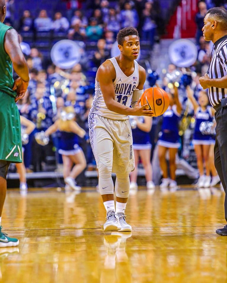 Read more about the article Former Hoya Trey Dickerson begins his second professional season in Croatia