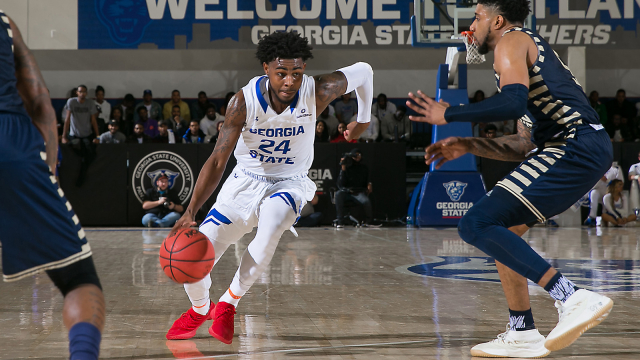 After a successful career at Georgia State, Devin Mitchell is mulling his options as he is set to begin his professional career