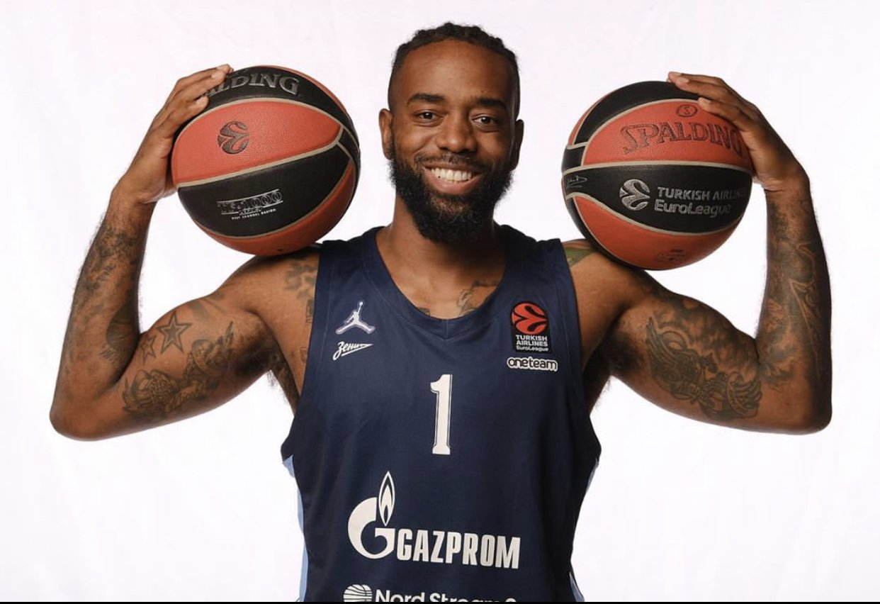 Zenit Saint Petersburg sharpshooter KC Rivers has left his mark in Europe for the past decade
