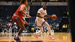 Former Monmouth forward Mustapha Traore reflects on his first professional experience
