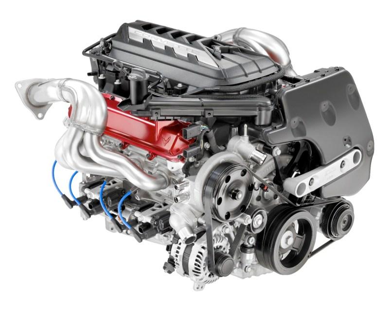 2020 Chevrolet Corvette Stingray Engine