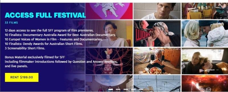 Sydney Film Festival Tickets