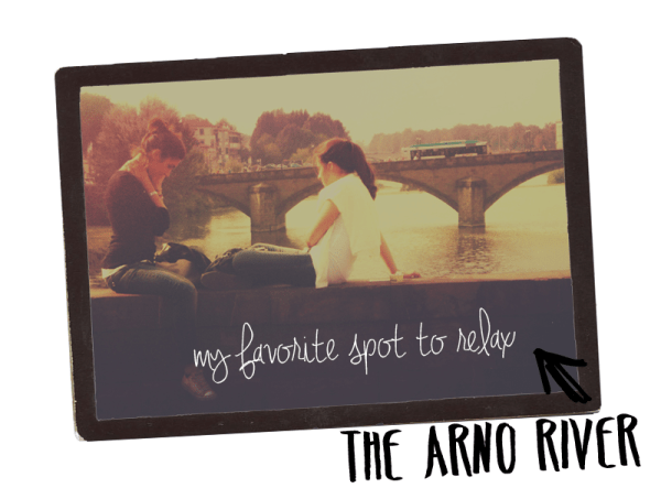 Bring your meal to the Arno