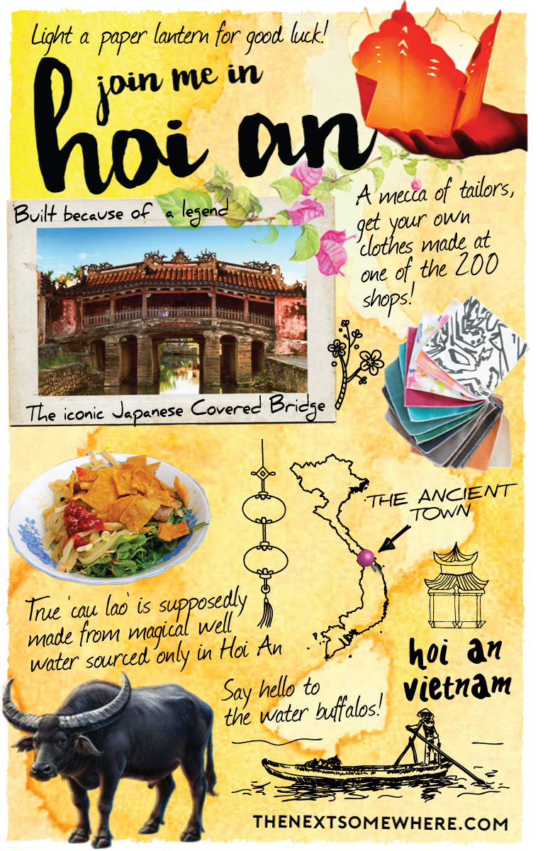Looking for things to do in Hoi An? Check out The Next Somewhere's Top Five!
