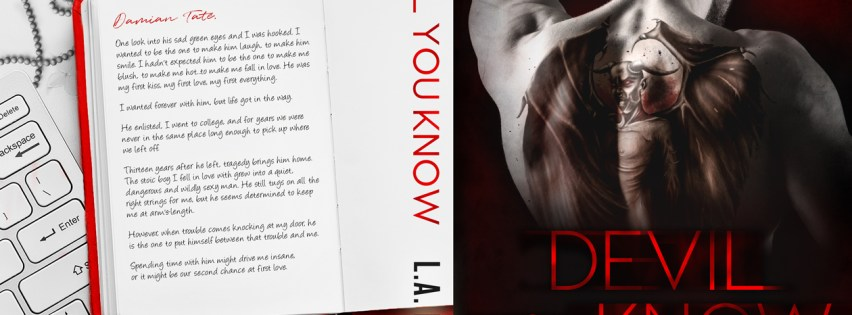 {Cover Reveal} Devil You Know by @LAFioreAuthor