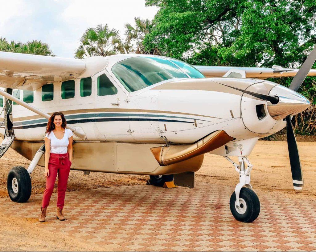 Africa Safari Plane