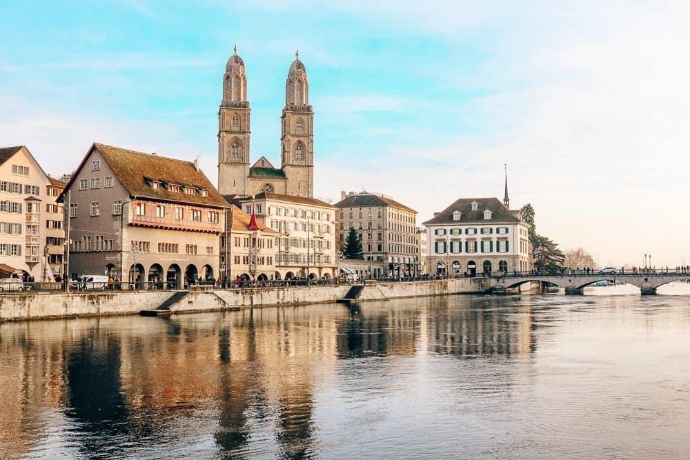 A Day in Zurich, Switzerland
