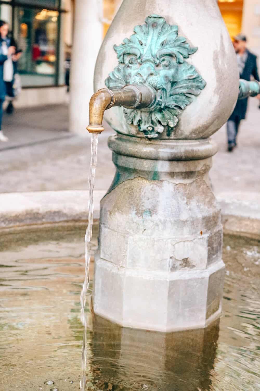Water Fountain, Switzerland