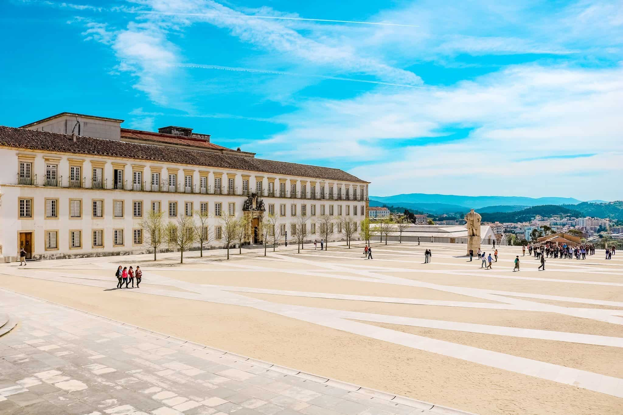 University Square, Paço das Escolas, Coimbra Portugal | The Next Trip