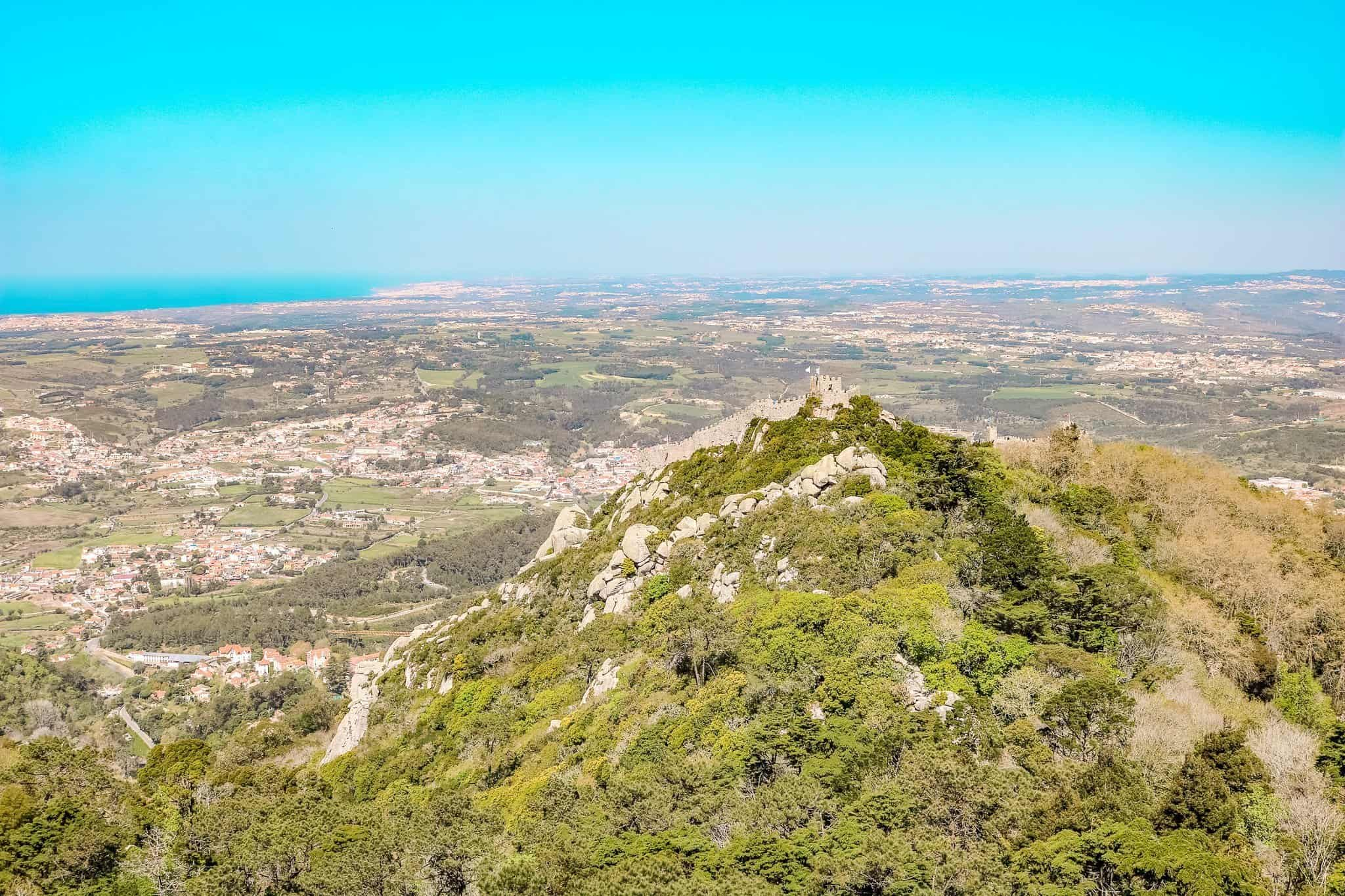 A Sintra Day Trip View of Castle of Moors