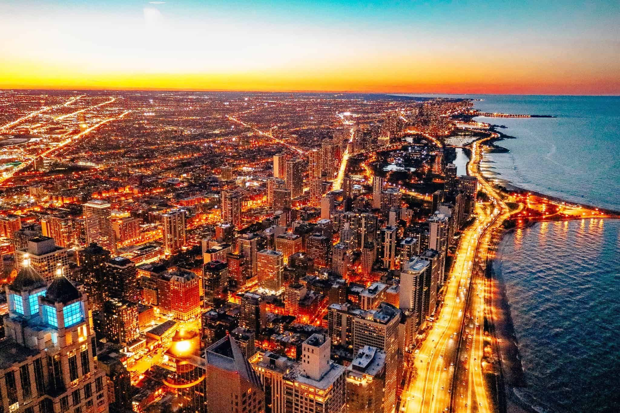 Top 5 Things to See in Chicago - View from Signature Lounge