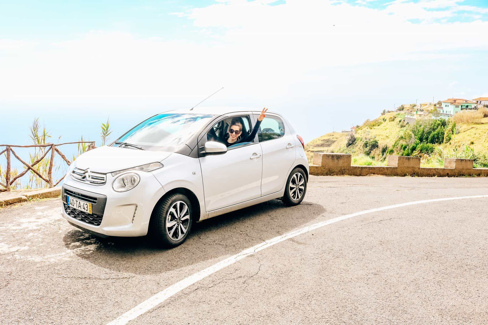 Rental car-driving in portugal
