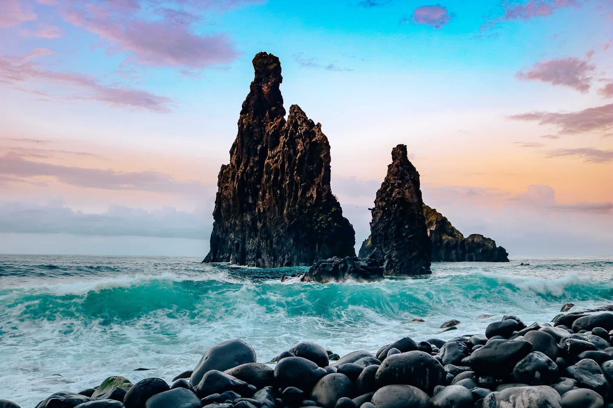 Top 7 Things to do in Madeira-Porto Moniz Sea Rocks
