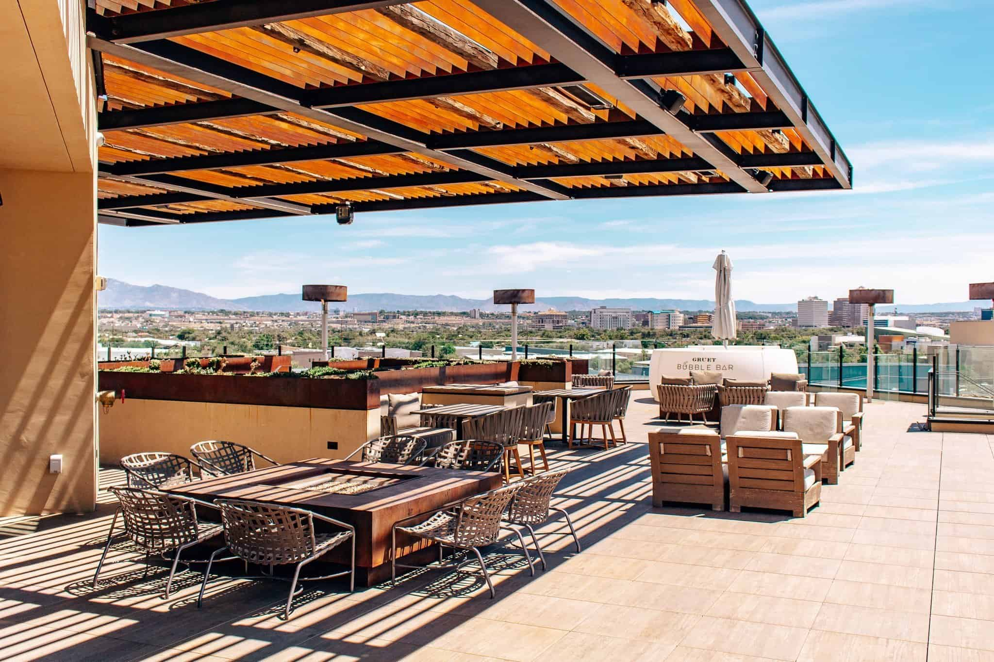 Rooftop Restaurant and Bar at Hotel Chaco - The Next Trip