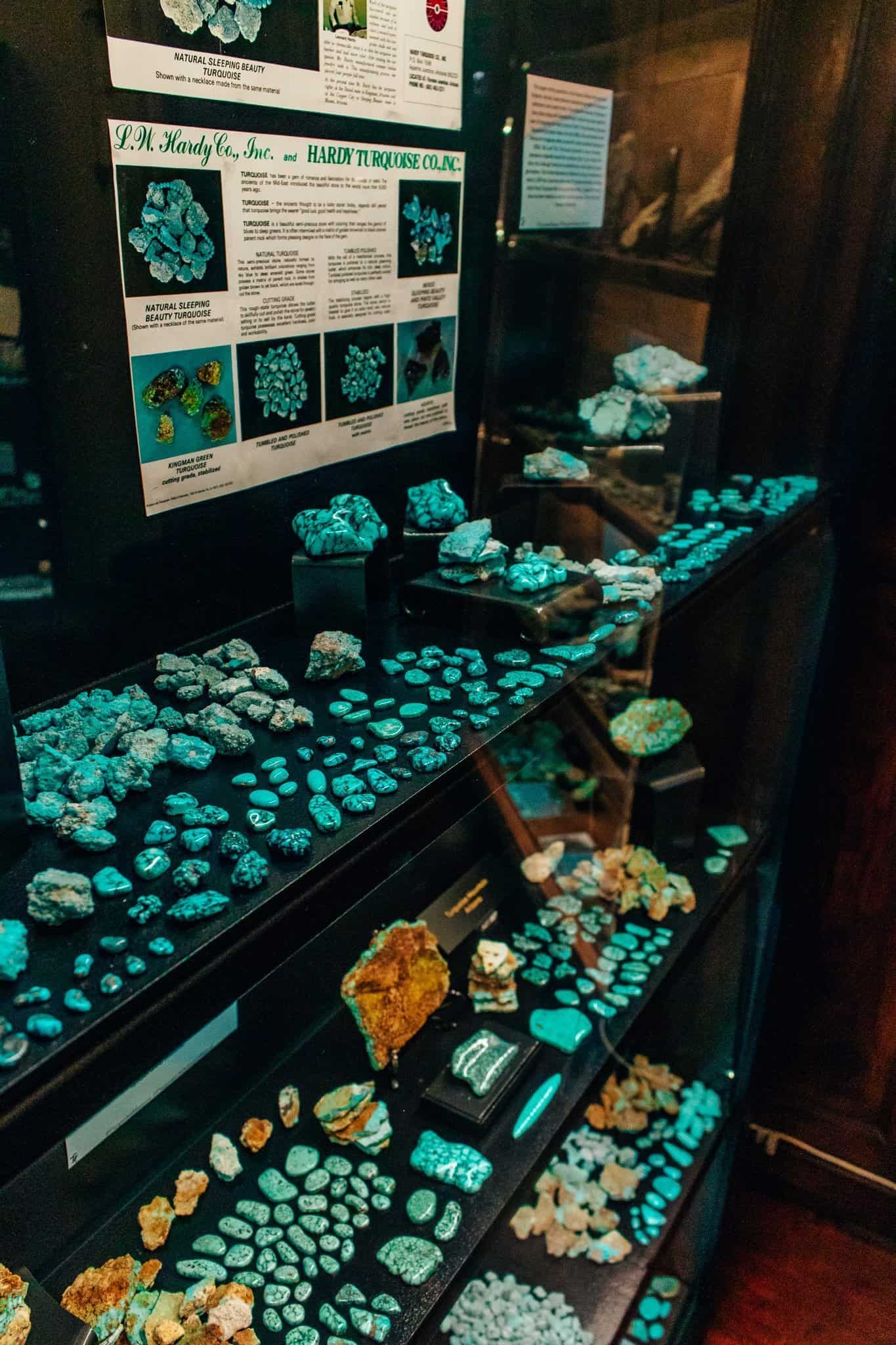 Turquoise Stones at Turquoise Museum - The Next Trip