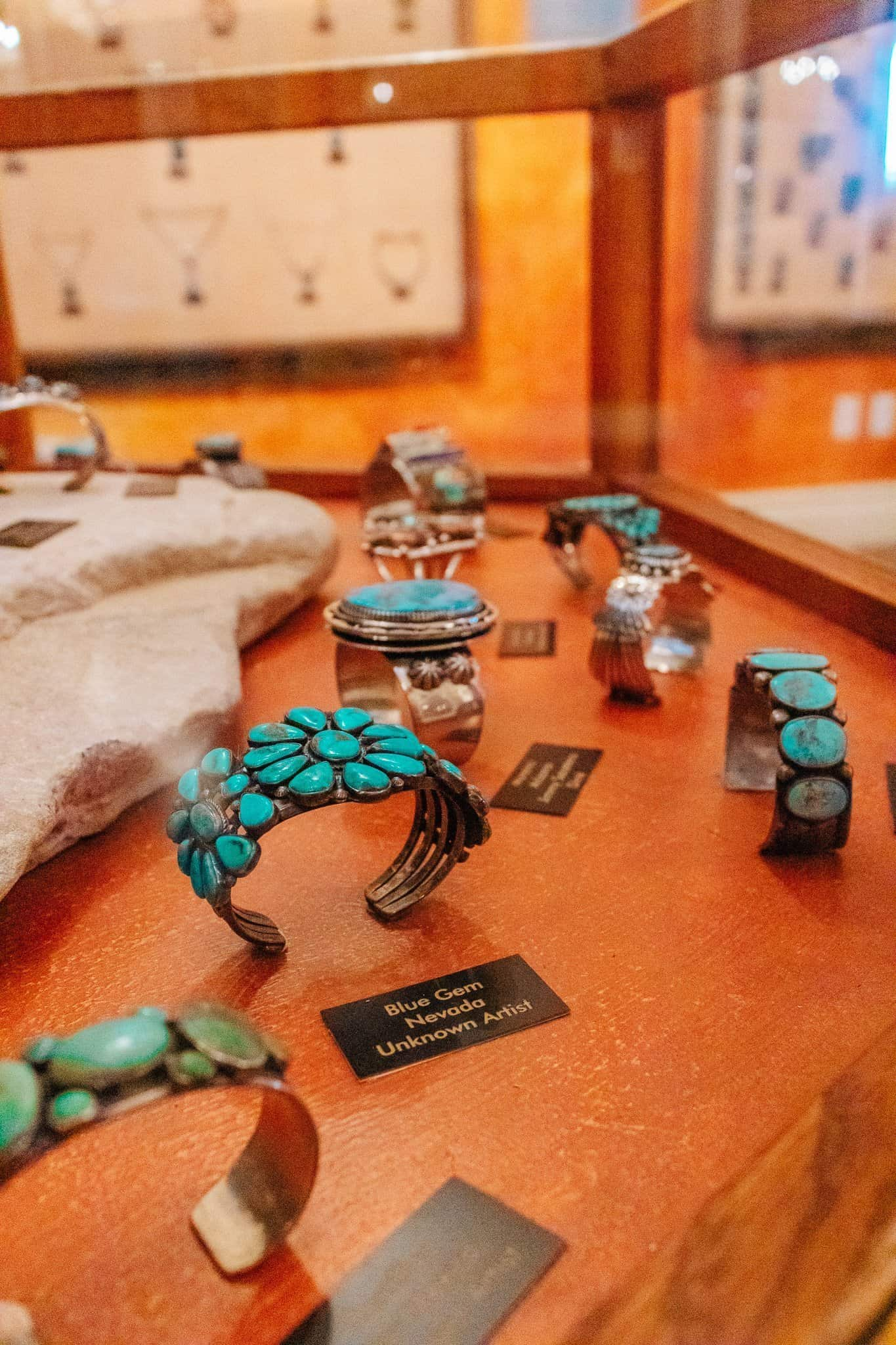 Turquoise Jewelry at Turquoise Museum - The Next Trip