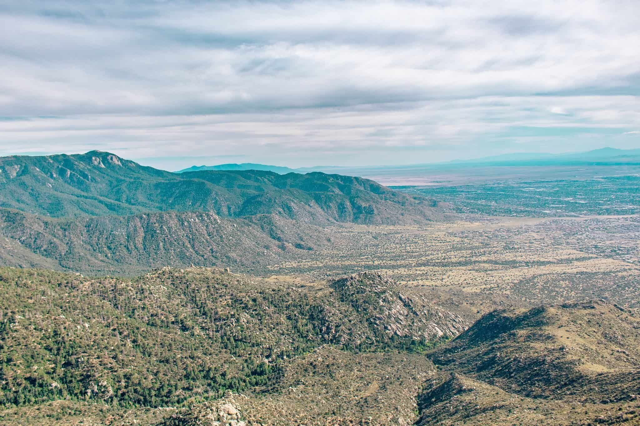 View from Sandia Peak - The Next Trip