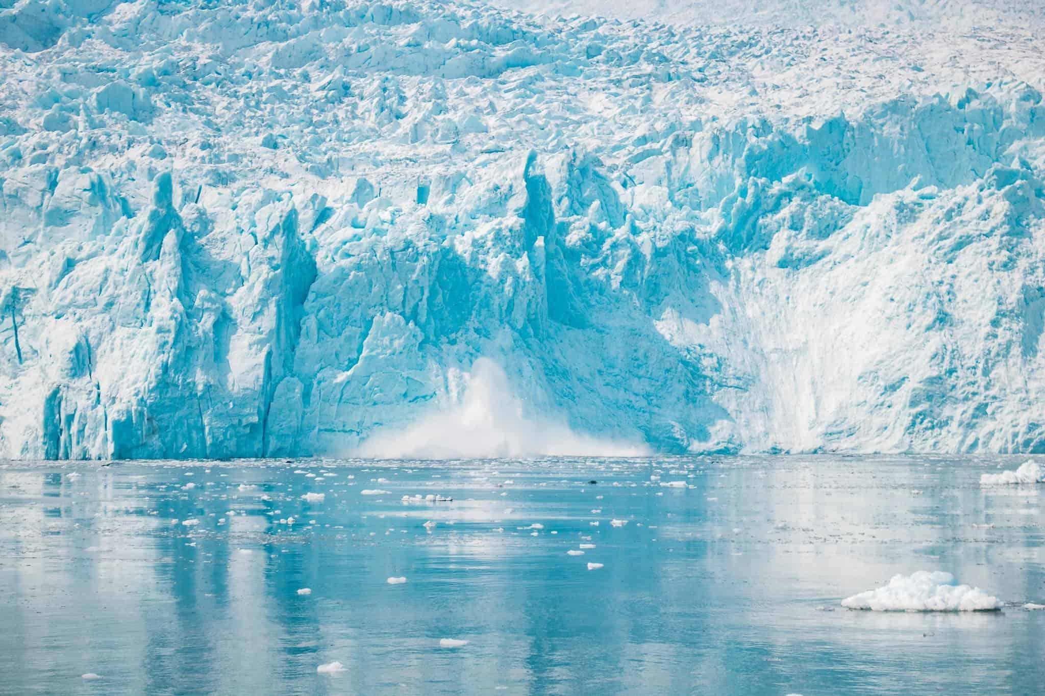 Aialik Glacier on Pursuit Collection Cruise Kenai Fjord Alaska - The Next Trip