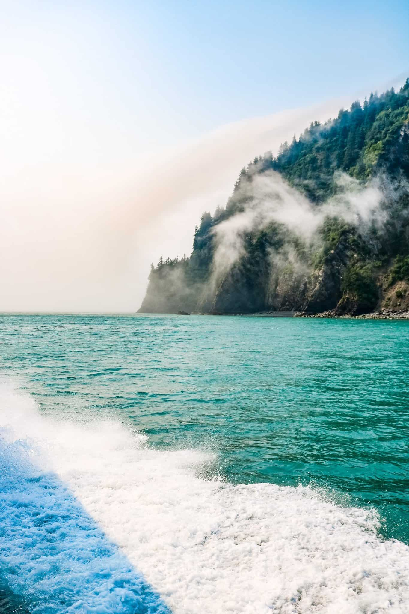 Lifting Fog at Kenai Fjord Alaska - The Next Trip