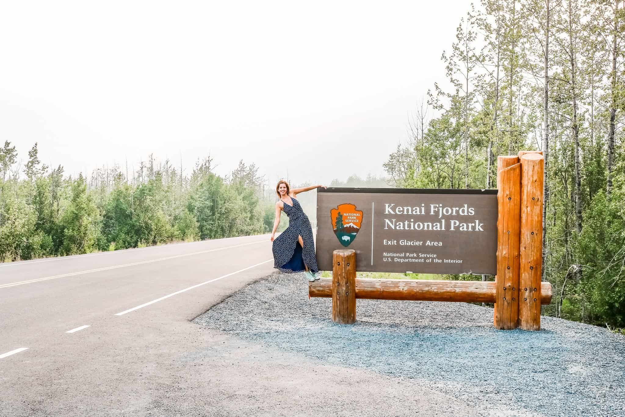 Kenai Fjords National Park Sign Alaska - The Next Trip