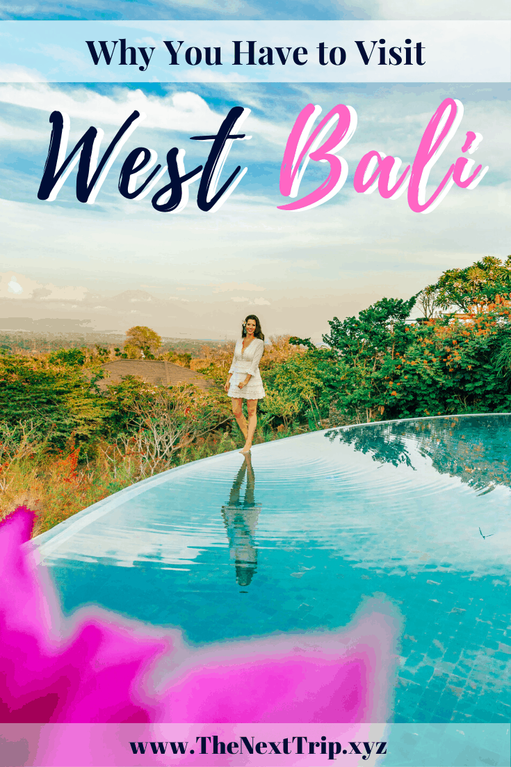 You booked a trip to Bali and don't know where to stay? West Bali is one of the best places to stay in Bali! We share how to get there, where to stay, and the best excursions!