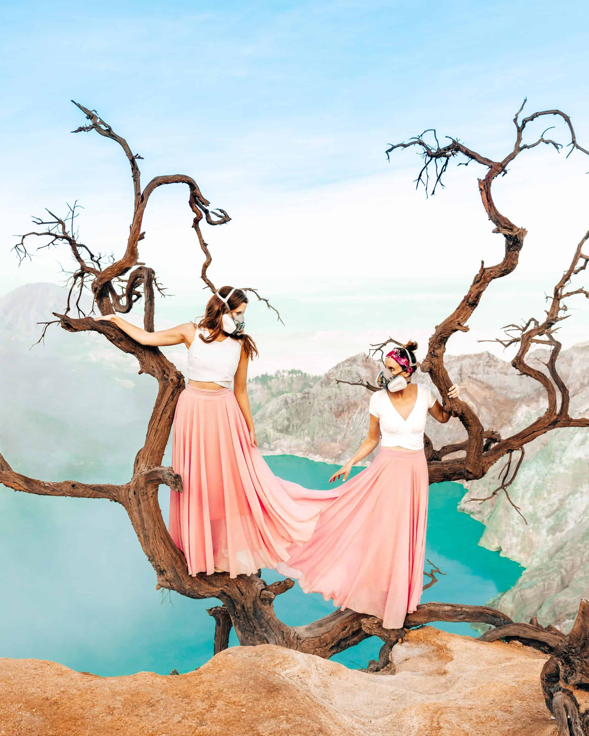 Famous Instagrammable Tree on Mount Ijen, East Java - The Next Trip